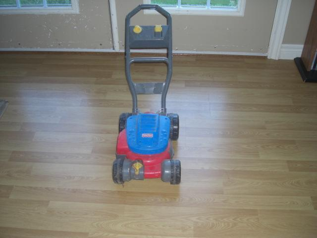 FREE: Fisher Price Bubble Lawn Mower w/o bubble container