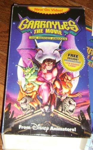 Gargoyles The Movie The Heroes Awaken Board Game VCR