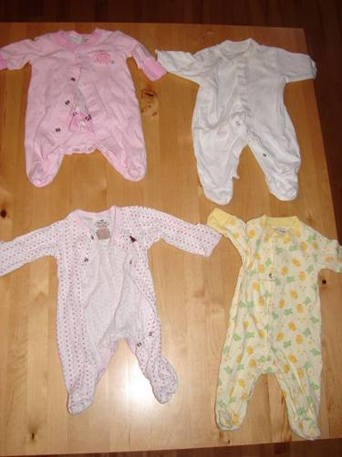 girls 0-3 month clothes