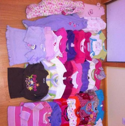 Girls 12m-3t clothing lot