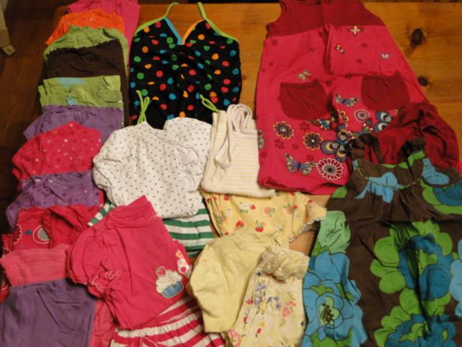 Girls 3T Summer Clothes Lot - Name Brand Clothes OBO