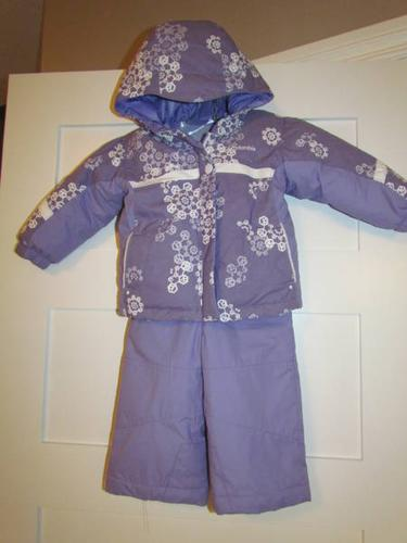 Girls COLUMBIA Snow Suit ~ 24 months