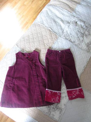 Girl's GUESS outfit, age 2