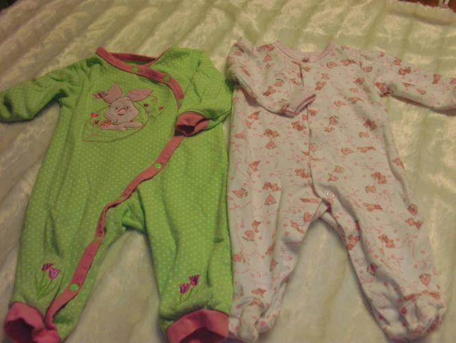 Girls sleepers 0-3 months