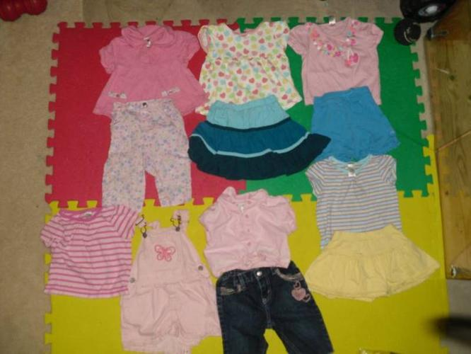 Girls Summer Lot Size 18 mths