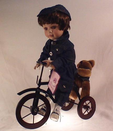 Goldenvale Judith porcelain doll