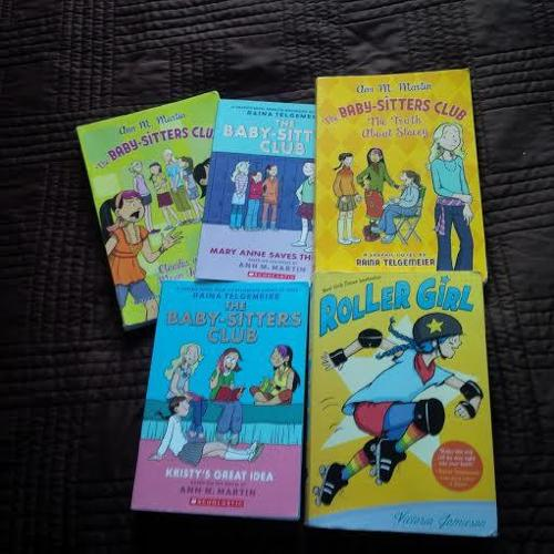 Graphic Novels for Girls - Babysitters Club