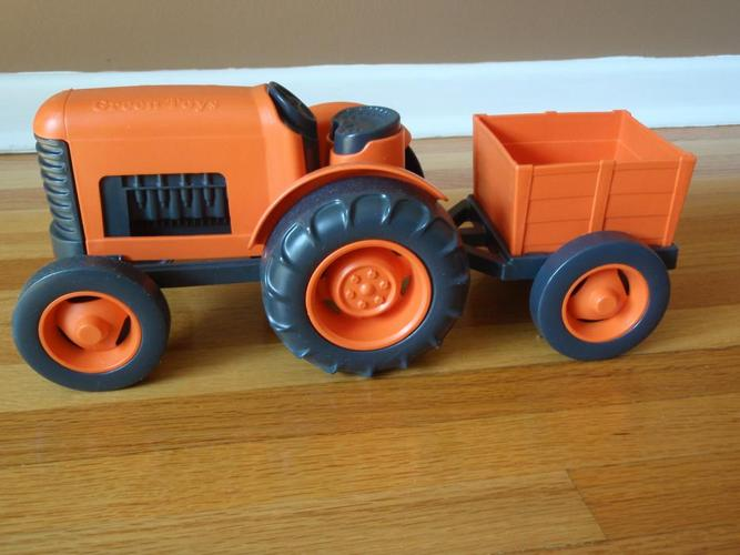 Green Toys Tractor & Wagon
