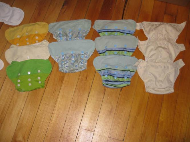 GroBaby Cloth Diapers - Full Stash!!