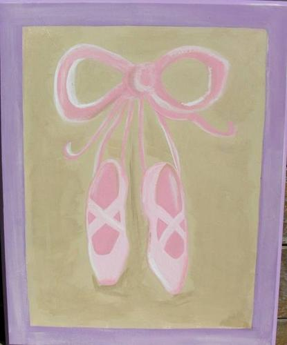 Handpainted Nursery ARTWORK & TOY BOXES....