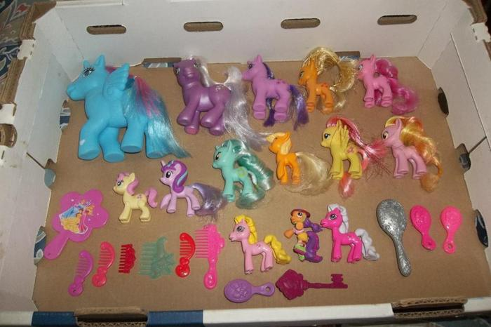 I have a full bag of little pony all in mint condition!