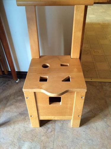 Ikea shoe chair