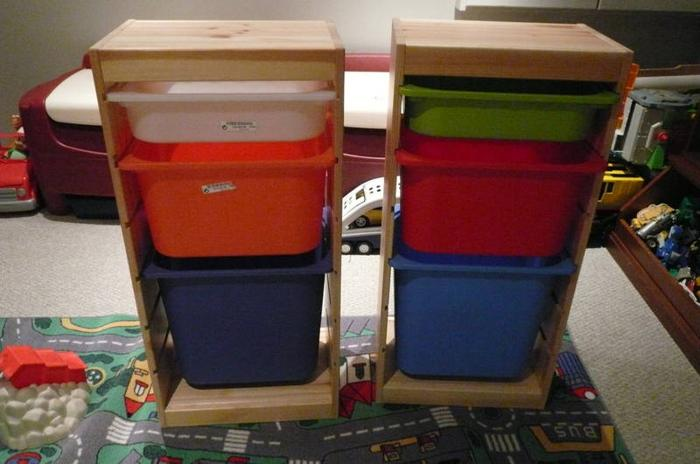 Ikea Trofast Unit Measurements ~ Pin Toy Storage Unit 2×2 Photos on Pinterest
