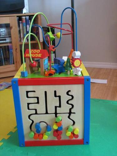 imaginarium 5 way bead maze cube for sale in