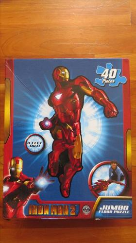 Iron Man Floor Puzzle