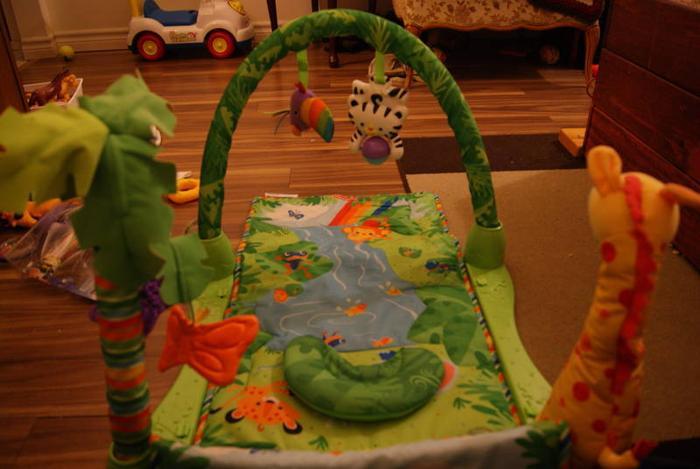 Jungle Themed Play Mat
