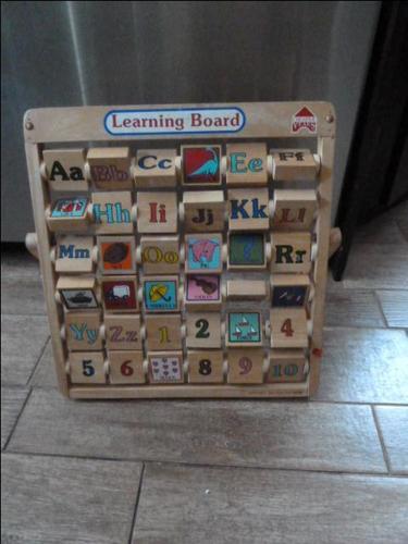 Kids Learning Developmental Versatile Flap wooden Abacus