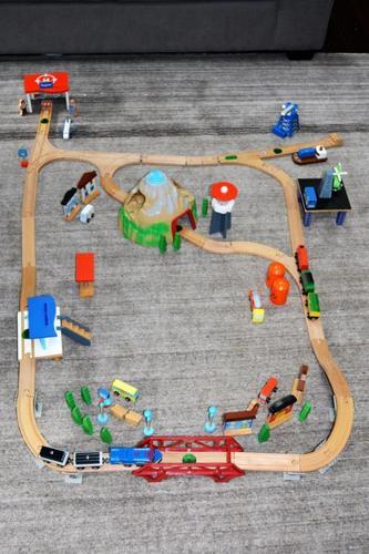 Kids Train Set -wooden