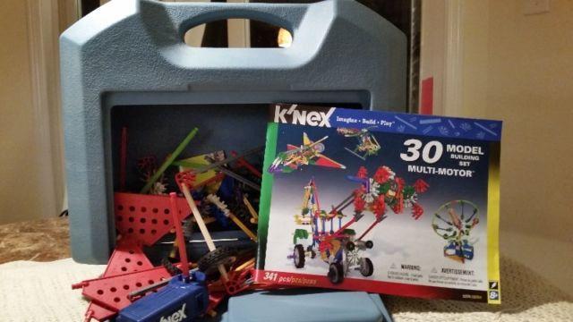 Kinex 30 Multi Motor Model Building Set