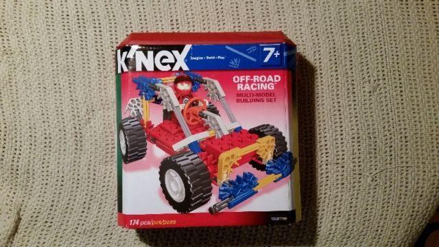 Kinex Off Road Racing Building Set