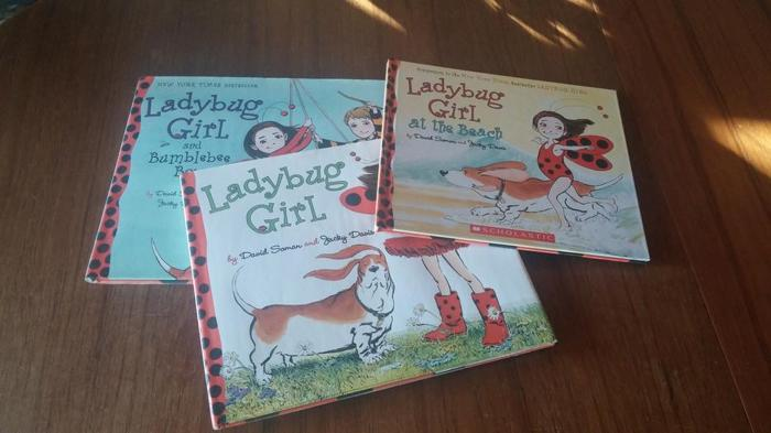 Lady Bug Girl books (3)