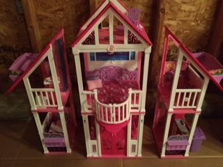 Large barbie house