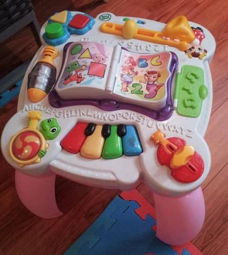 Leap Frog Learning Table - PINK & Learn Around Table