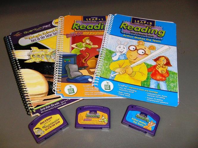 Leap Pad Books and Cartridges