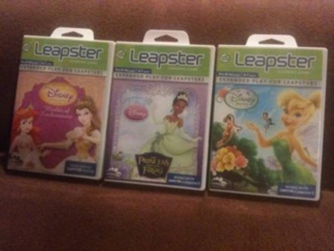 Leapster Games (x3) 3 for $20