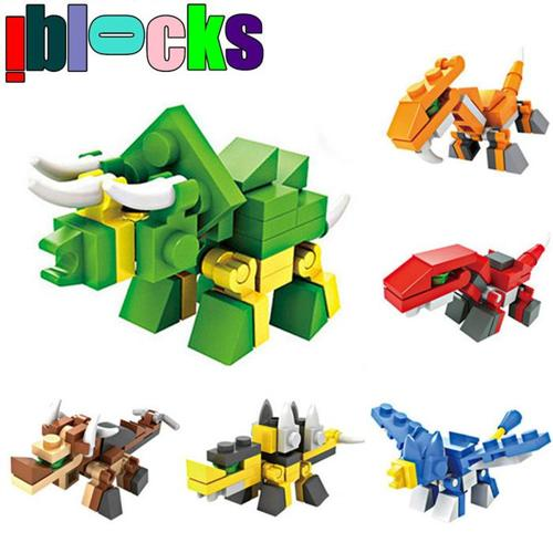 Lego-compatible: small dino/space ship set: $3 EACH - NEW!!!