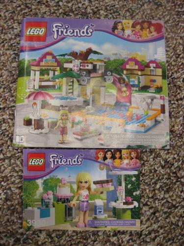 Lego Friends Pool Party lego