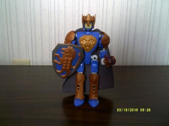 LEGO: KNIGHTS' KINGDOM: KING MATHIAS - USED