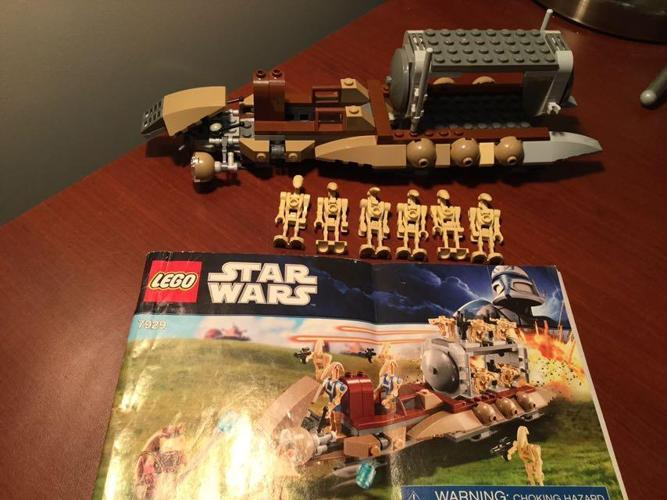 LEGO STAR WARS SET - BATTLE OF NABOO