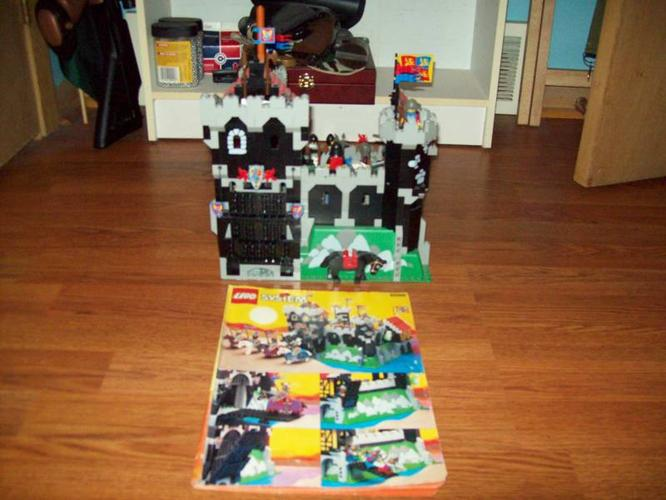Lego System Black Knights Castle 6086year1992 For Sale In Virgil