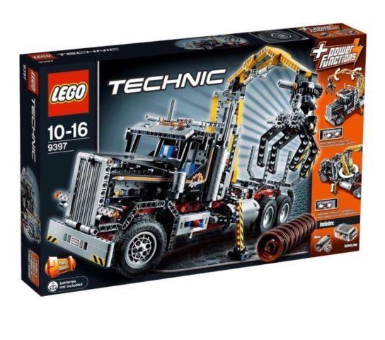 LEGO Technic 9397: Logging Truck (1308pcs)