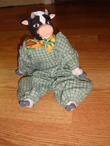 Like New Cow Doll - $4