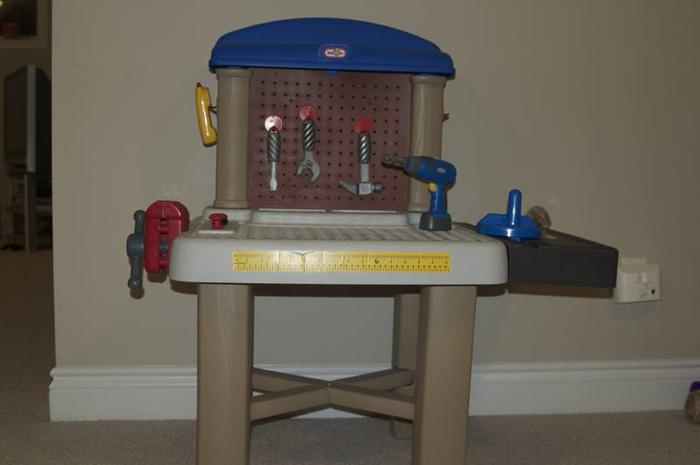 Little tikes workshop tool bench hot girls wallpaper for Little tikes 2 in 1 buildin to learn motor workshop