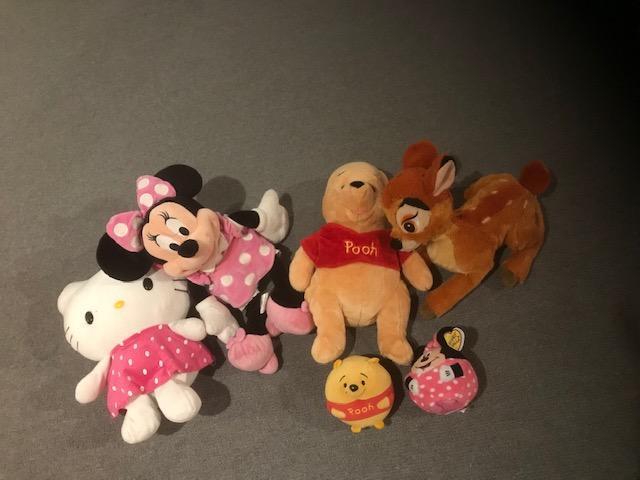 Lot of Disney Plush Toys