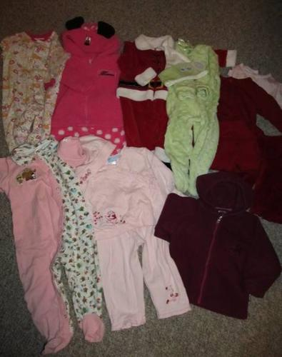 Lot of Fall/Winter baby girl clothes