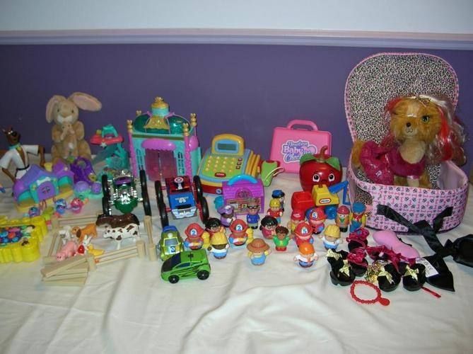 Lot of Mix Toys Boys and Girls