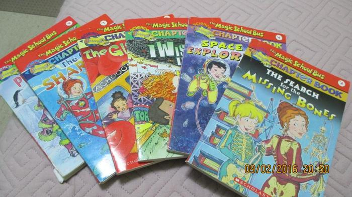 magic school bus . chapter books