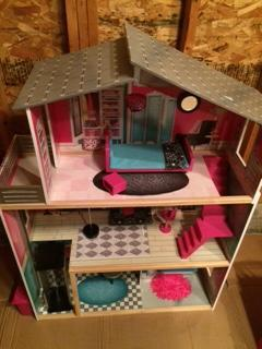 Massive barbie house in Mint condition