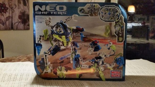 Mega Blocks Neo Shifters Building Set...New and Never Opened