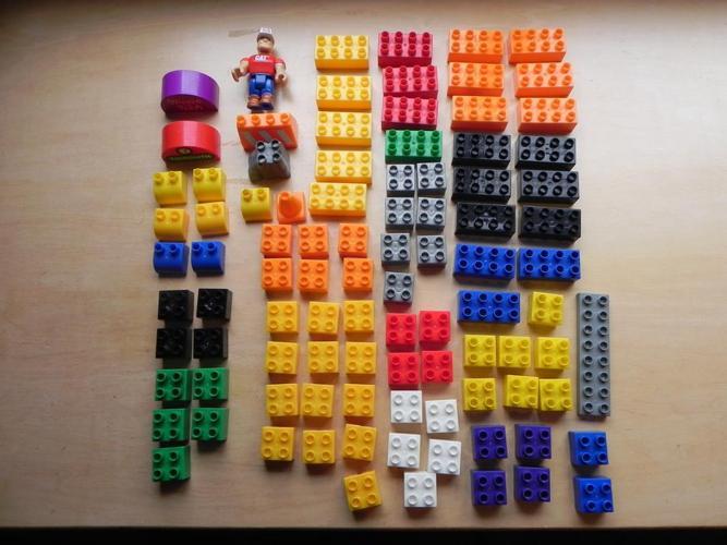 Mega Bloks/like Duplo