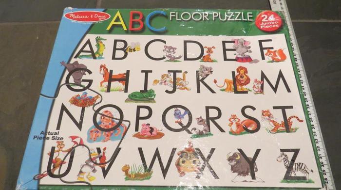 Melissa and Doug ABC Floor Puzzle