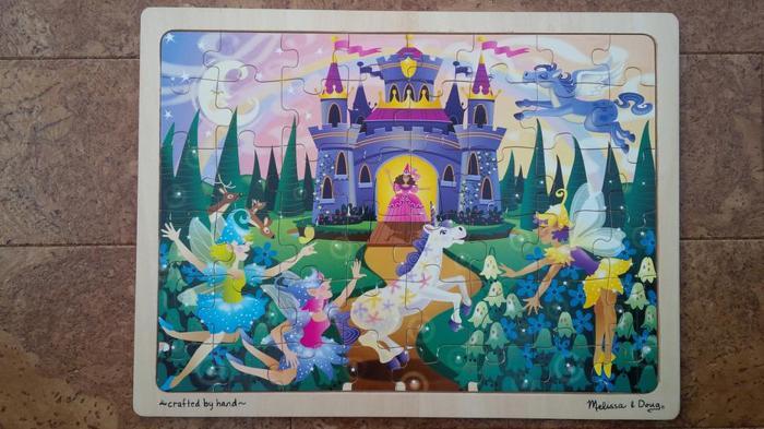 Melissa and Doug fairy princess castle puzzle