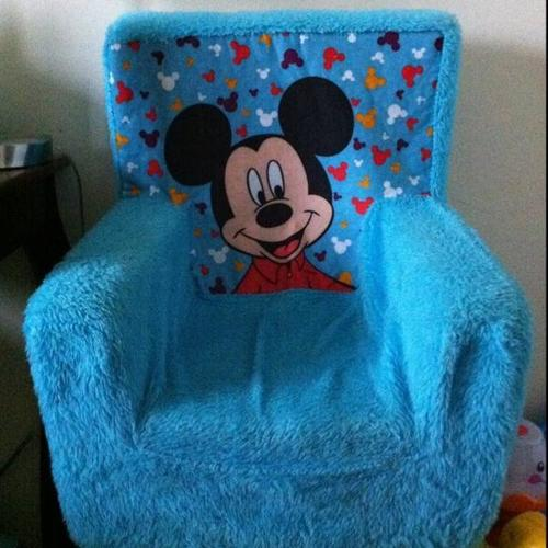 Mickey Mouse foam chair