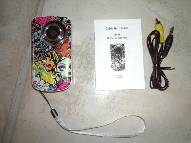 Monster High Digital Video Camera