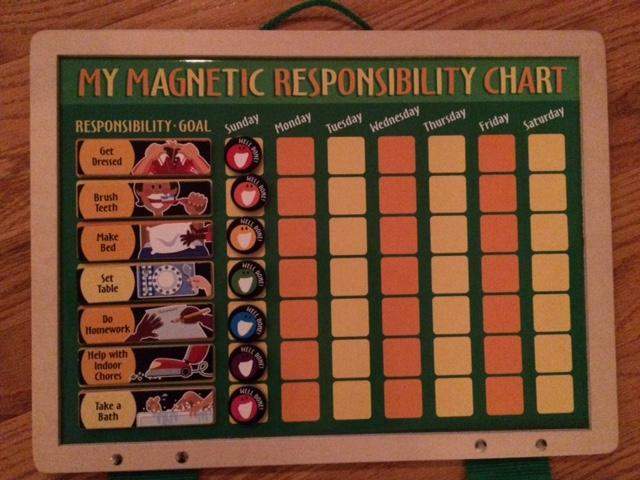 My Magnetic Responsibility Chart by Melissa & Doug