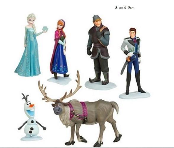 New Set of 6 Frozen Figurines - $15